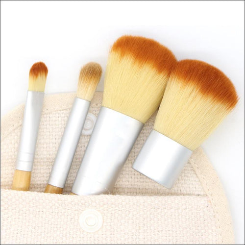 Bamboo Brush Travel Kit - Malibu Coastal