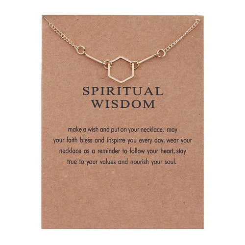 Spiritual Wisdom Necklace - Malibu Coastal
