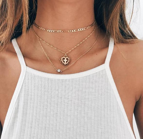 Oliver Necklace - Malibu Coastal