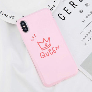 King and Queen Phone Case - Malibu Coastal