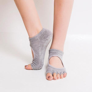 Half Toe Gripper Socks - FREE - Malibu Coastal