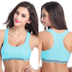 Kallie Sports Bra - Malibu Coastal