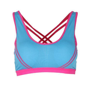 Haley Sports Bra - Malibu Coastal