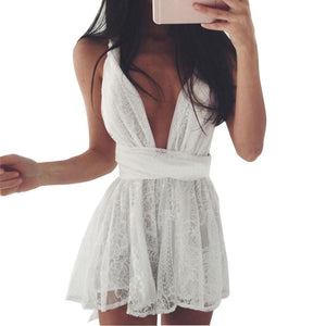 Kardashian Mini Dress - Malibu Coastal