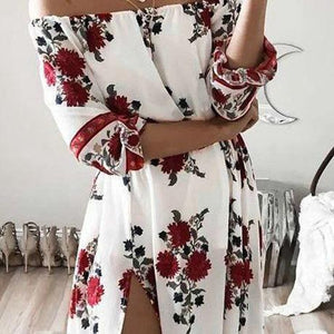 Gina Floral Maxi Dress - Malibu Coastal