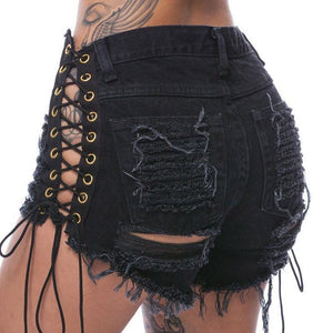Sexy Punk Shorts - Malibu Coastal