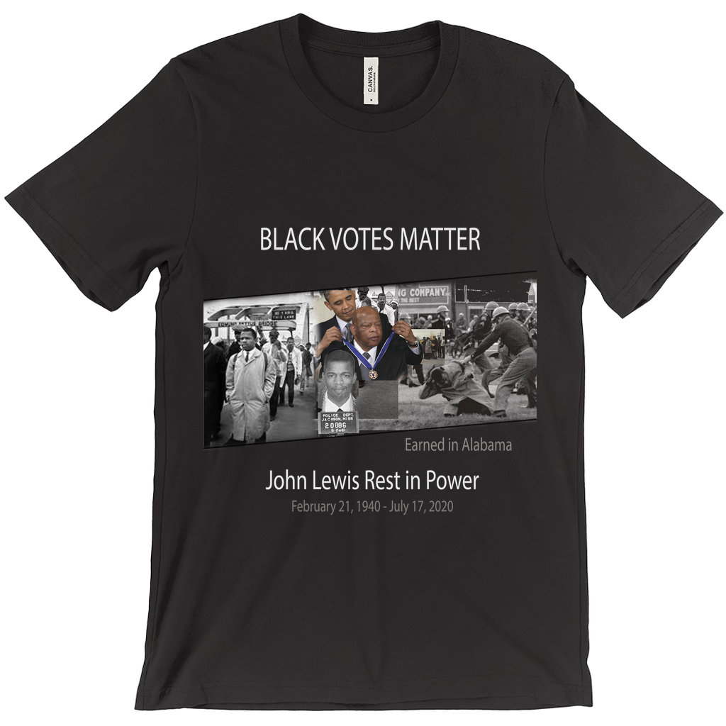 John Lewis - Rest in Power Unisex T-Shirt