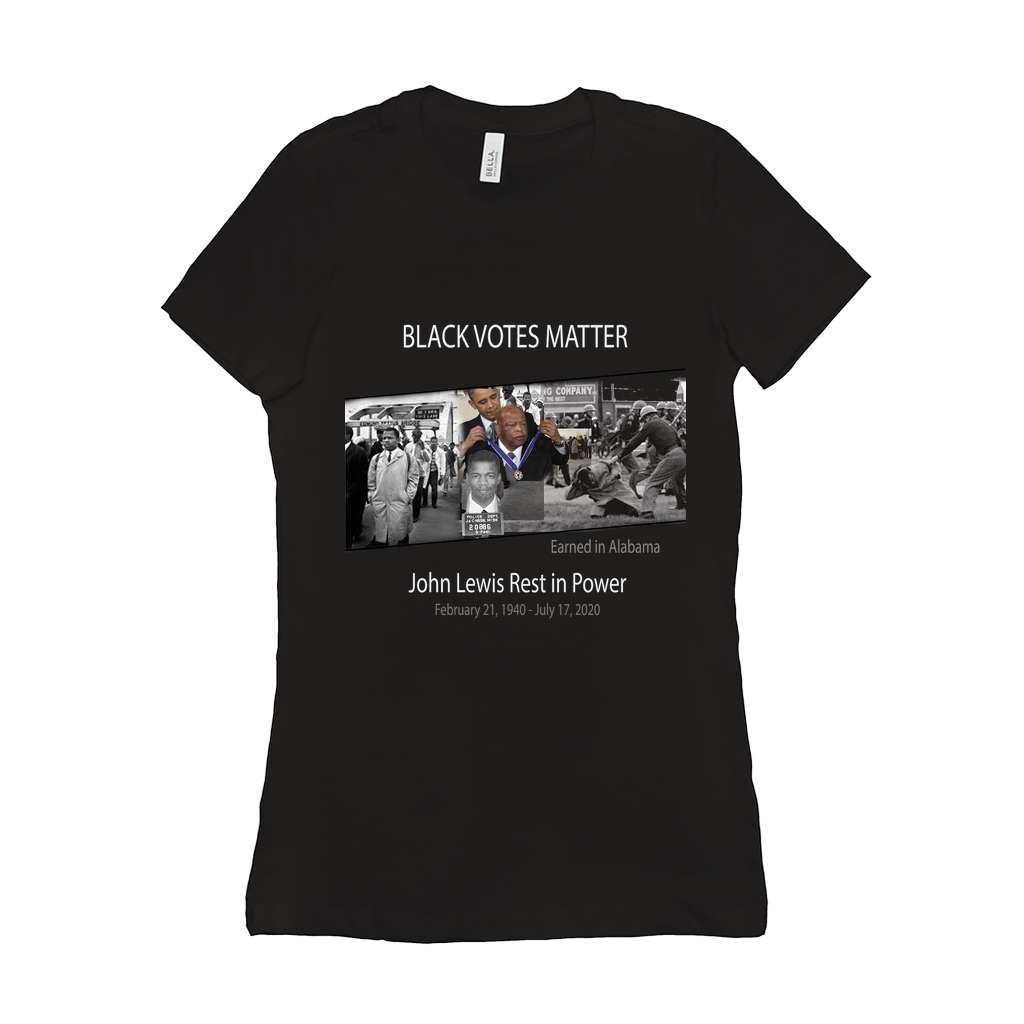 John Lewis - Rest in Power Women's T-Shirt