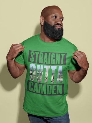 Straight Outta Camden Short-Sleeve Unisex T-Shirt