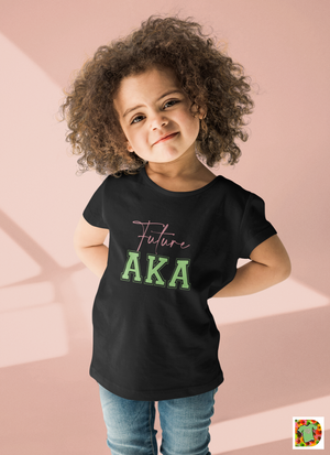 Future AKA Toddler Short Sleeve Tee