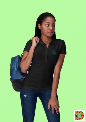 St. Clair Learning Center Embroidered Women's Polo Shirt
