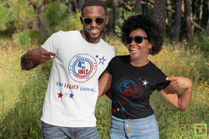 July 4th The Legacy Lives On Short-Sleeve Unisex T-Shirt