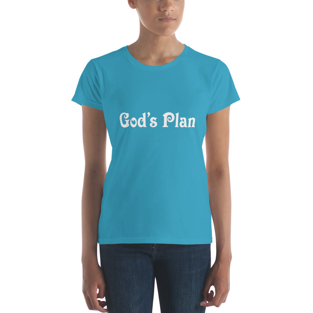 God's Plan Women's short sleeve t-shirt
