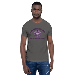 New Mexico Highlands 2 Short Sleeve Unisex T-shirt