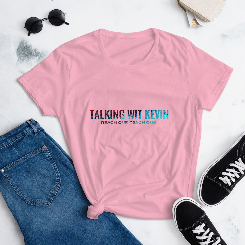 Talking Wit Kevin Women's short sleeve t-shirt