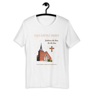 Union Baptist Church White Short-Sleeve Unisex T-Shirt