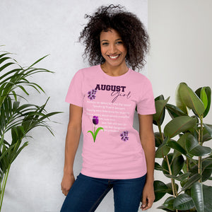 August Girl Purple Short-Sleeve Unisex T-Shirt