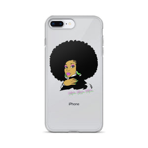 AKA Afro iPhone Case