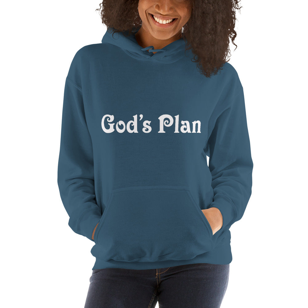God's Plan Hooded Sweatshirt