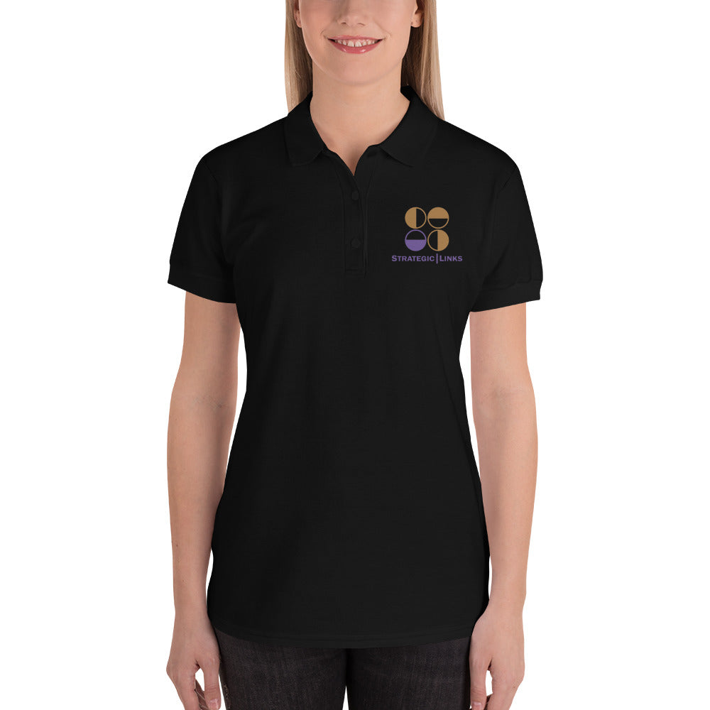 Strategic Links Embroidered Women's Polo Shirt