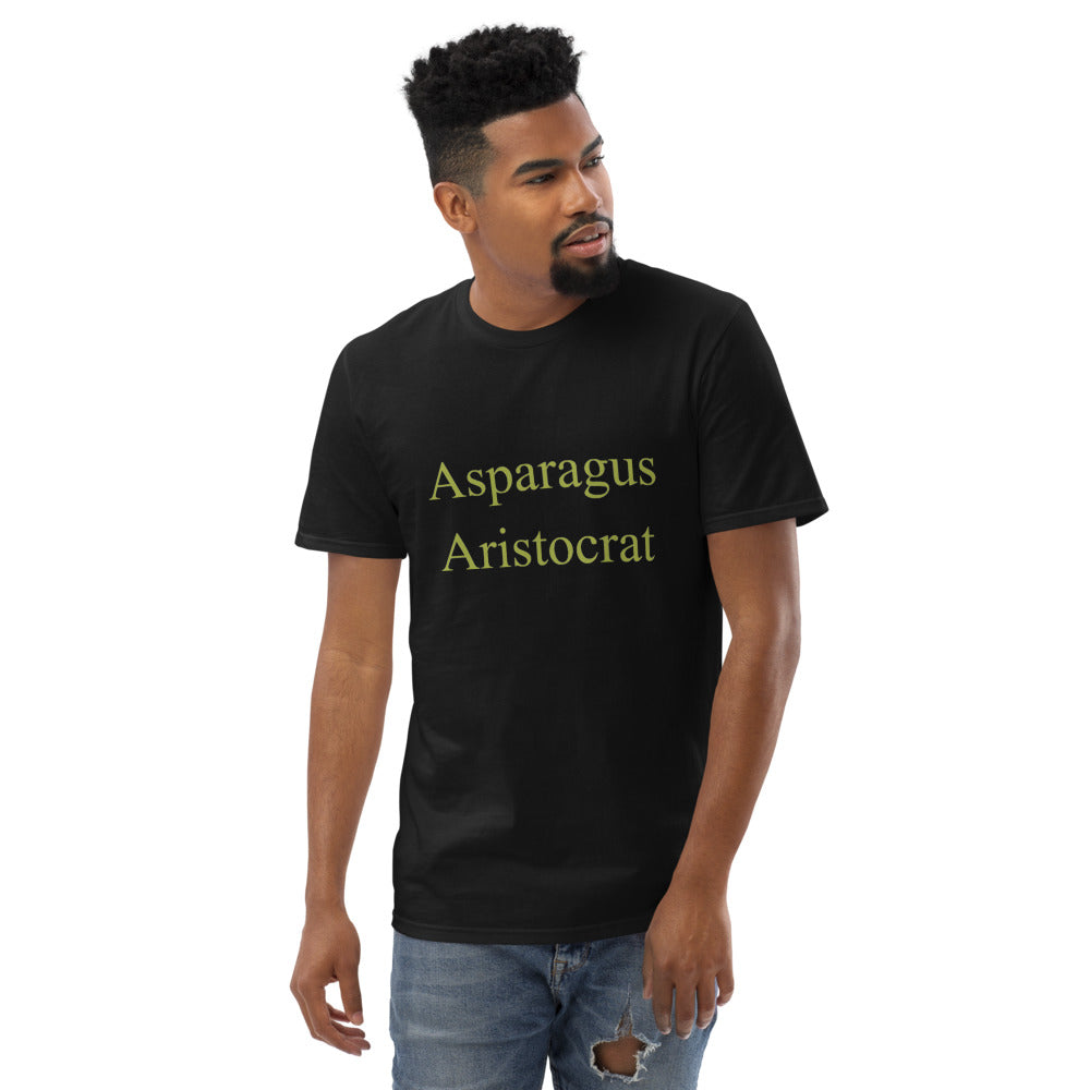 Asparagus Aristocrat Short-Sleeve T-Shirt