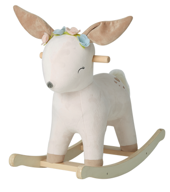 Deer Wooden Rocker (Girl)