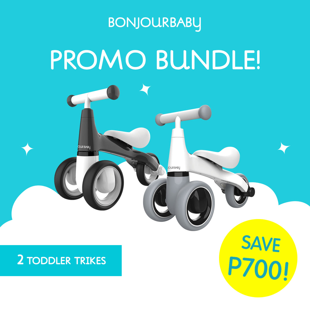 Bundle:  2 Toddler Trikes