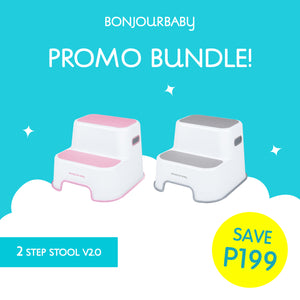 Bundle:  2 Step Stool V2.0