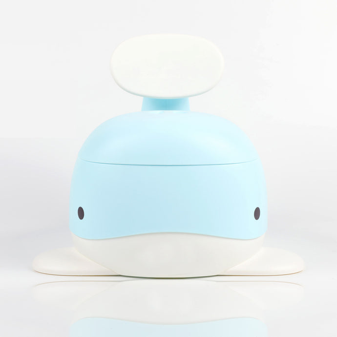 Bonjour Baby Whale Potty (Blue)