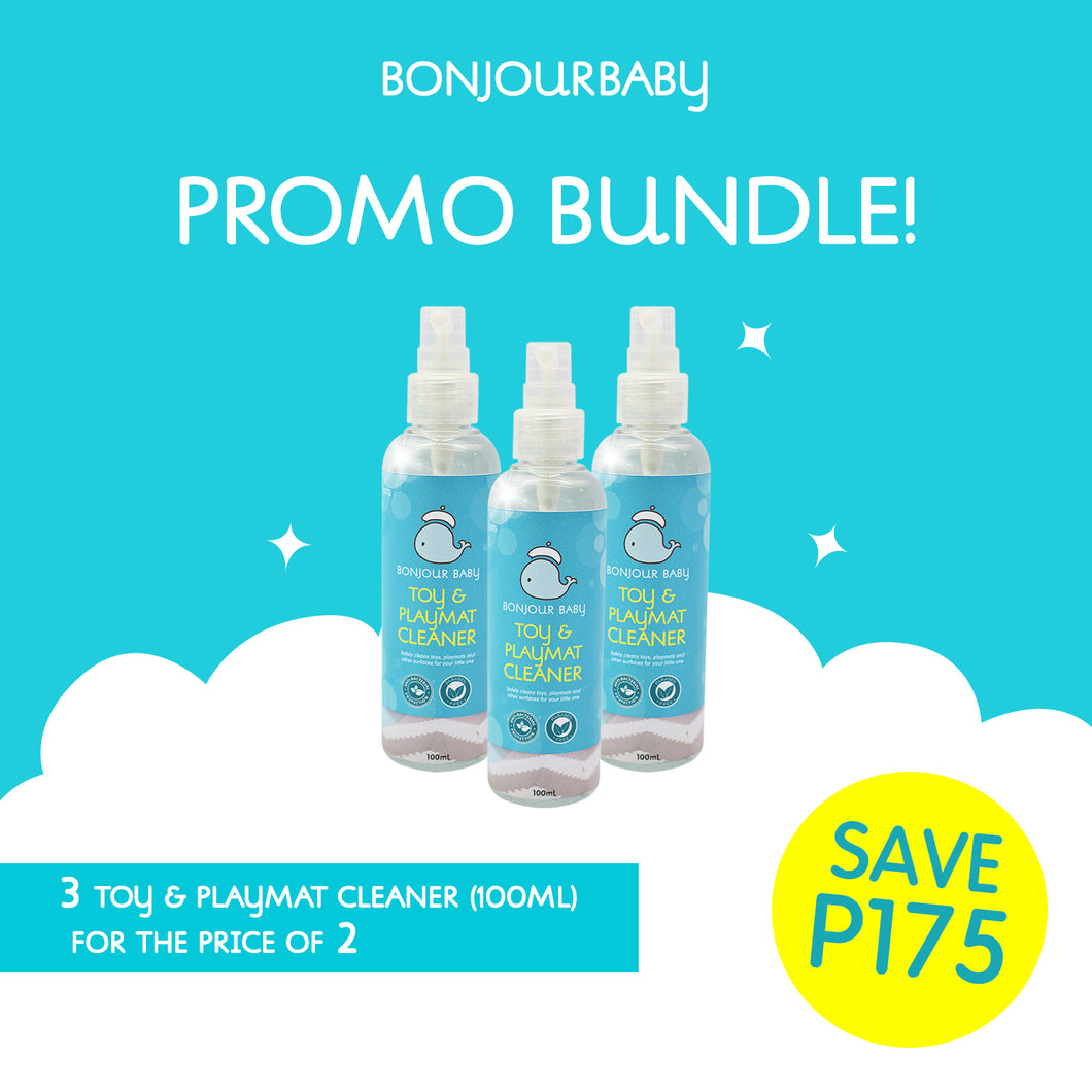 Bundle: Buy 2 Take 1 on Toy & Playmat CLeaner (100ml)