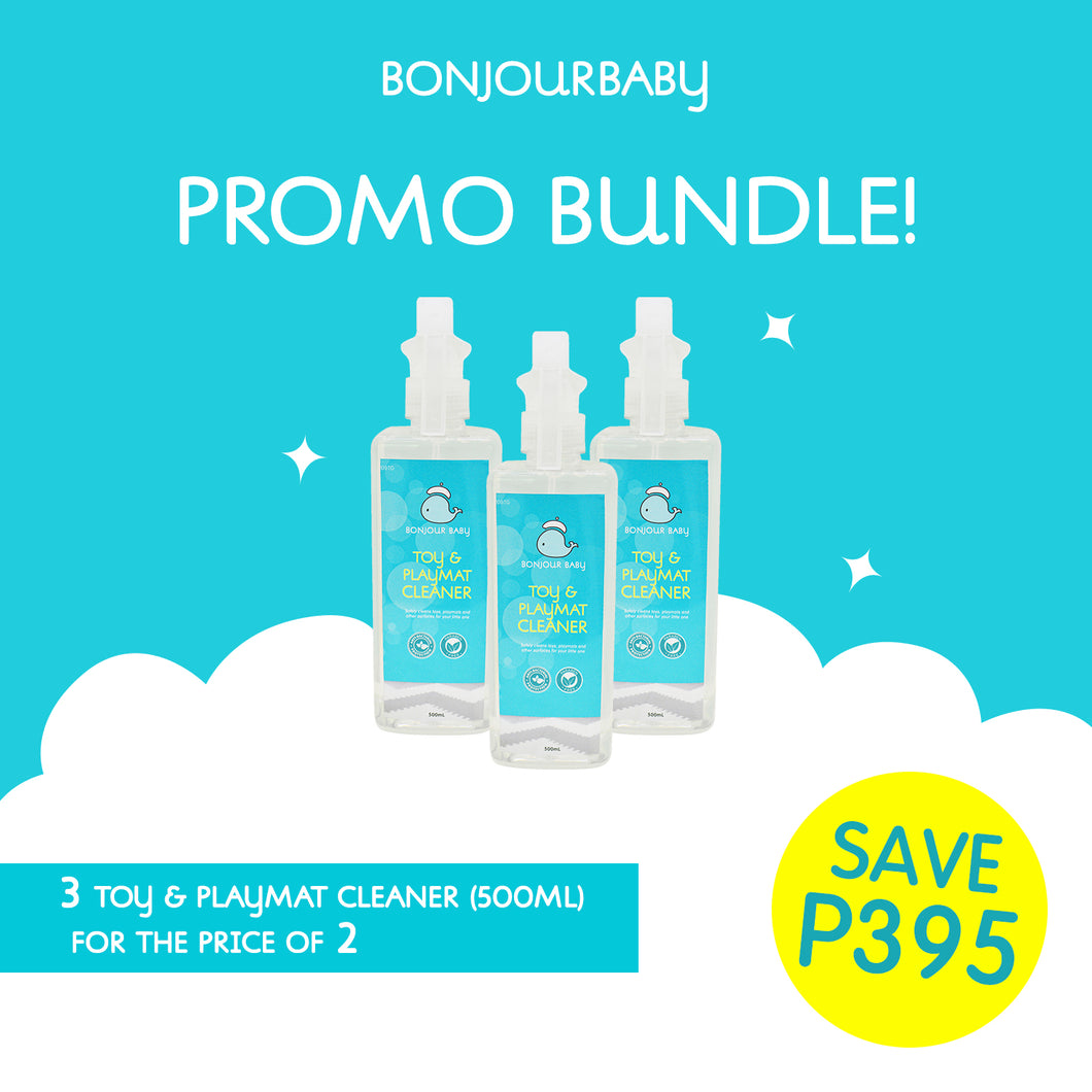Bundle: Buy 2 Take 1 on Toy & Playmat CLeaner (500ml)