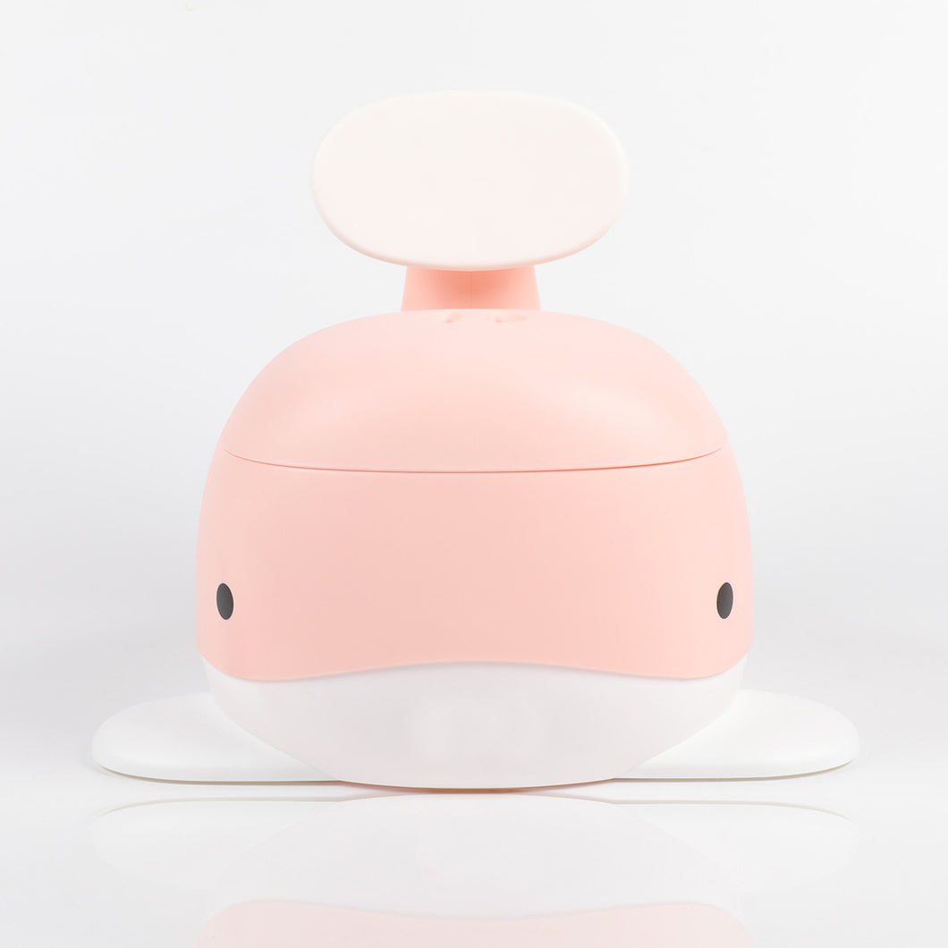 Bonjour Baby Whale Potty (Pink)