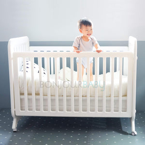 Adjustable Height Convertible Crib