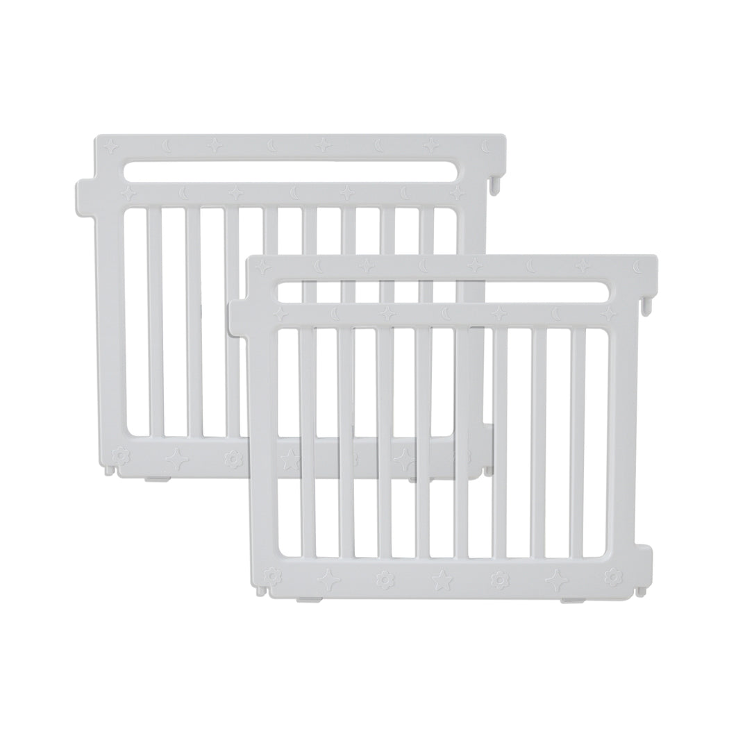 Playpen Extension Panels - Gray Set of 2