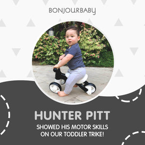Bundle: XL Luxe Scandinavian Cross + Toddler Trike (Black)