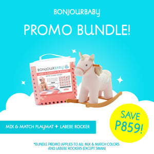 Bundle: Mix & Match Playmat & Labebe Rocker