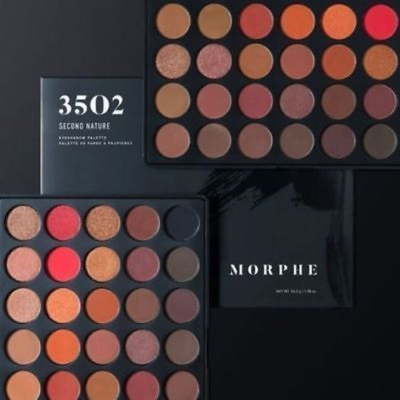 "MORPHE EYESHADOWS PALETTE ""3502 - SECOND NATURE"""