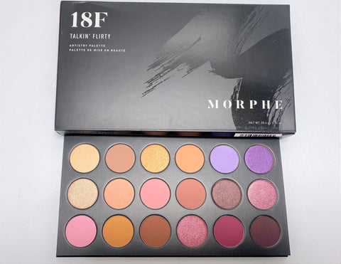 "MORPHE EYESHADOW PALETTE 18F ""TALKIN' FLIRTY"""