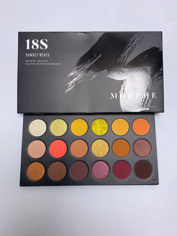 "MORPHE EYESHADOW PALETTE ""18S SUNSET BEATS"""