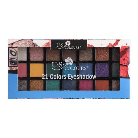 U.S. COLOURS EYESHADOWS PALETTE