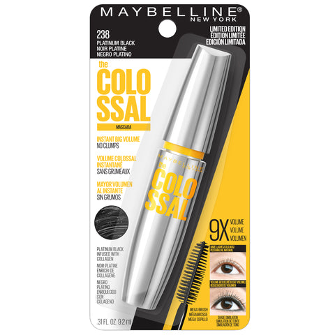 "MAYBELLINE ""VOLUM' EXPRESS THE COLOSSAL WASHABLE MASCAR"