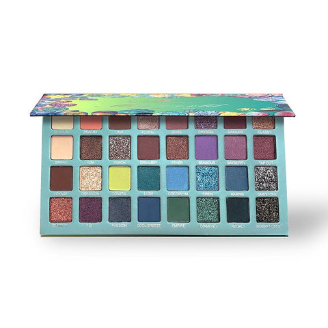 "U.S. COLOURS EYESHADOWS PALETTE ""MISS WORLD"""
