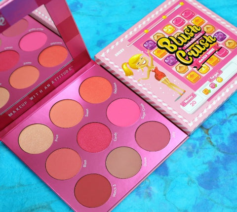 "RUDE 9 COLOR BLUSH PALETTE ""BLUSH CRUSH - MATCH THREE"""