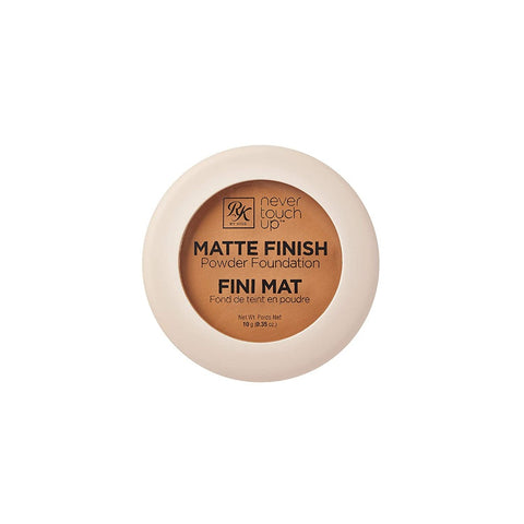 RK BY KISS NEVER TOUCH UP MATTE FINISH POWDER FOUNDATIONS