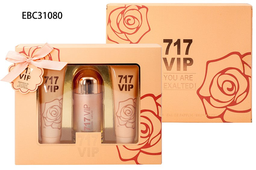 EBC 717 VIP YOU ARE EXALTED FRAGRANCES SET