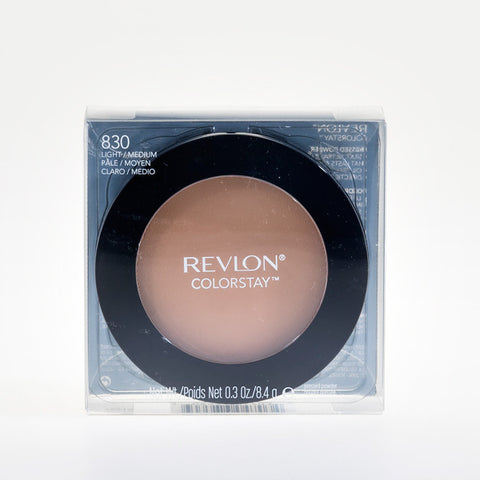 "REVLON COLORSTAY FINISHING PRESSED POWDERS- LIGHTWEIGHT AND OIL-FREE ""830 LIGHT/MEDIUM"""