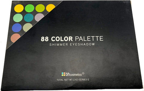 BH Cosmetics 88 Color Shimmer Eyeshadows