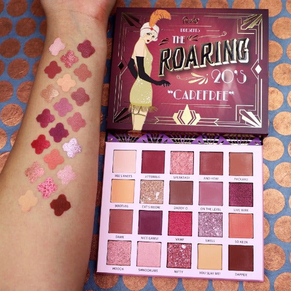 "RUDE EYESHADOWS PALETTE ""THE ROARING 20'S - CAREFREE"""