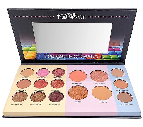 BELLA FOREVER (FBE-907) THE GAME OF BEAUTY FACE PALETTE