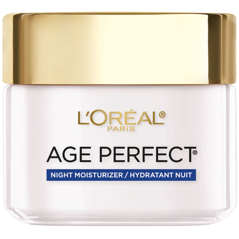 L'OREAL AGE PERFECT FOR MATURE SKIN ANTI-SAGGING, ANTI- AGE SPOT,HYDRATING MOISTURIZER NIGHT CREAM